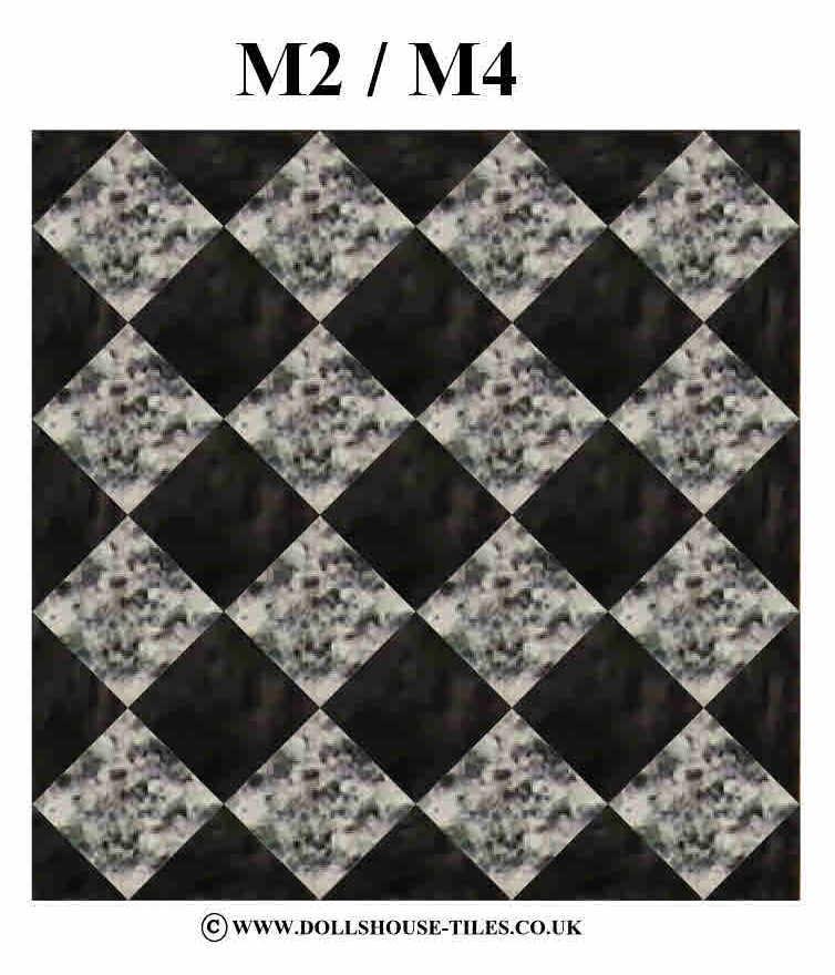 DOLLS HOUSE MINIATURES FLOORING MINIATURE FLOOR TILES INCH SQUARE - 1 inch square ceramic tiles
