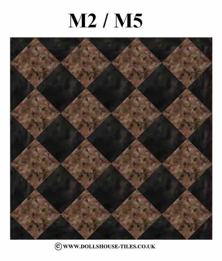 DOLLS HOUSE MINIATURES FLOORING MINIATURE FLOOR TILES INCH SQUARE - 3 inch square ceramic tiles