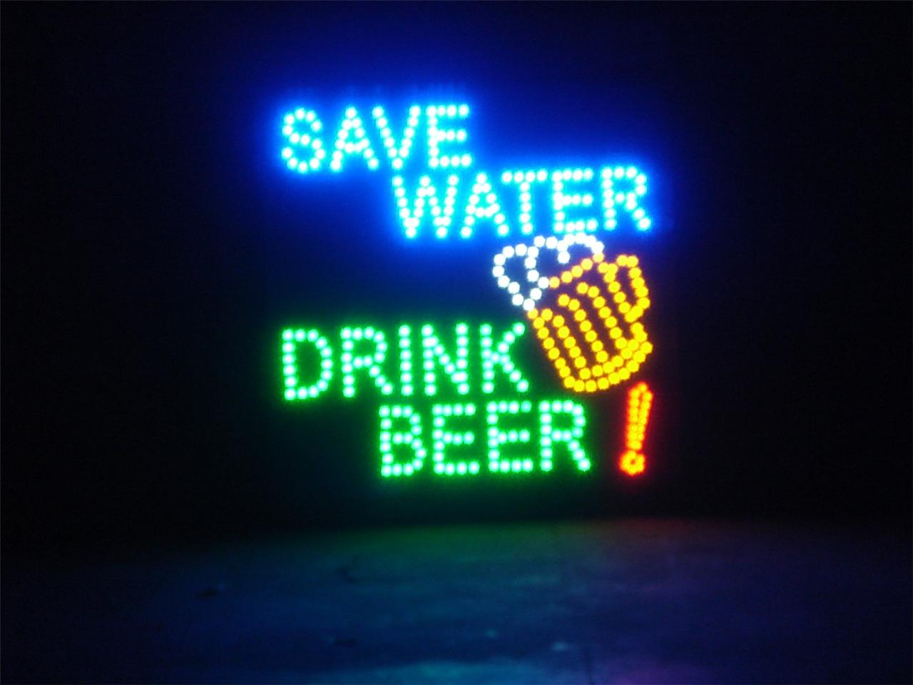 Man Cave Signs And Lights : New motion led signs for restaurant home bar man cave