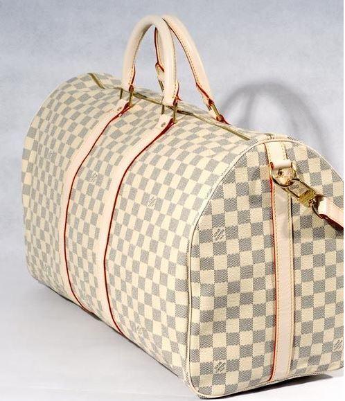 L ouis v uitton luggage travel bag duffle bag handbag for ...