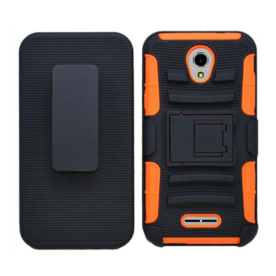 For Alcatel One Touch Elevate 5017b Defender Hybrid Rugged