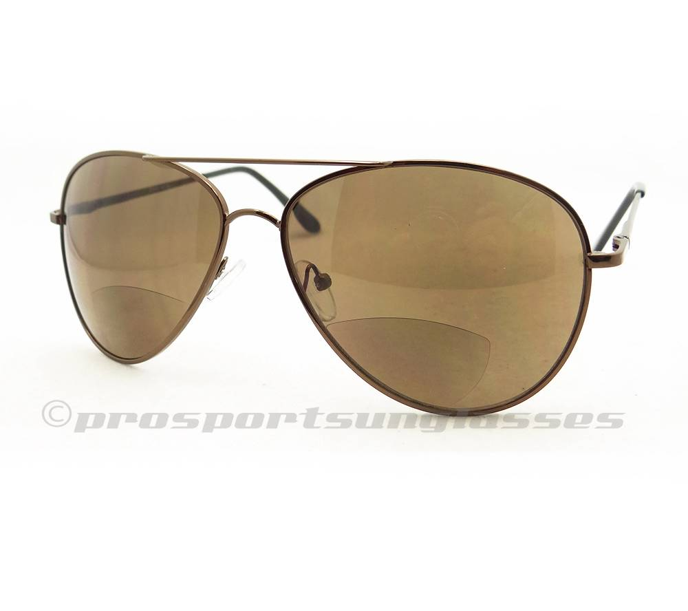 Men S Bifocal Sunglasses  classic aviator bifocal sunglasses teardrop top gun mens 1 50
