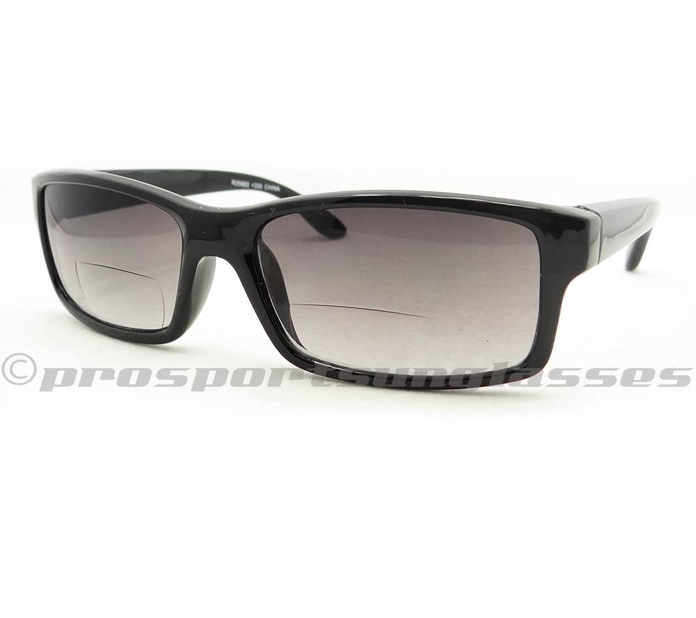 Polarized Bifocal Reading Sunglasses  square bifocal reading glasses tinted men 1 50 2 00 2 50 3 00