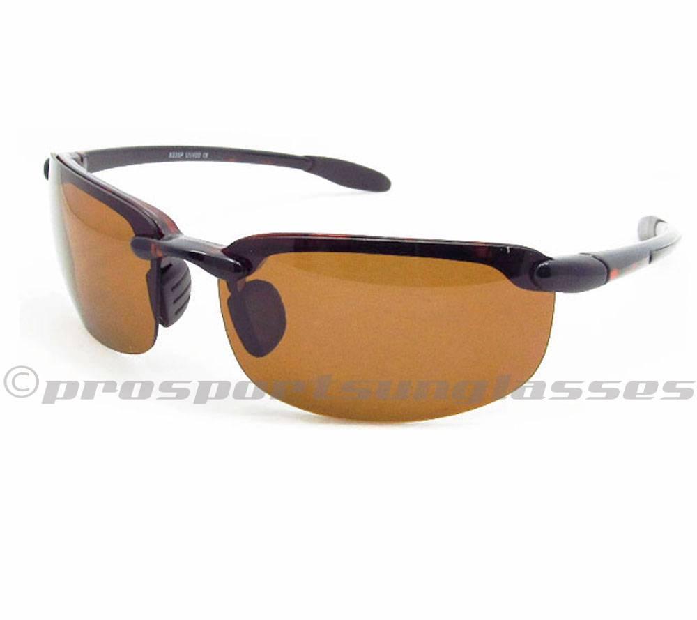 Rimless Glare Free Polarized Sunglasses for Men & Women ...