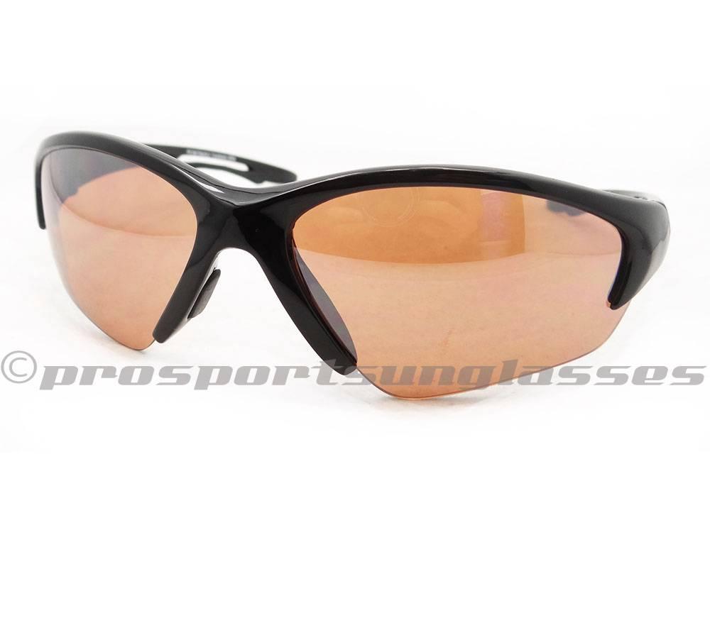 Semi Rimless Sport TR90 Blue Blocker Sunglasses with High ...