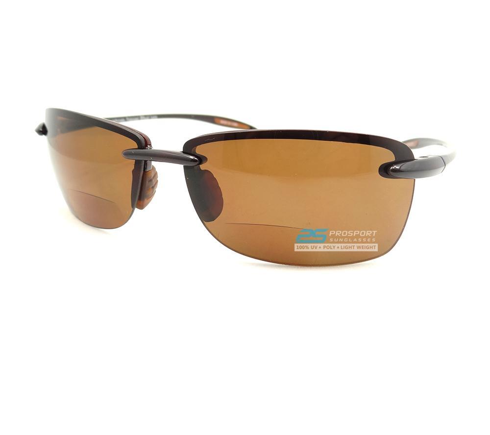 Polarized bifocal sunglasses glasses tinted 2 for Polarized bifocal fishing sunglasses