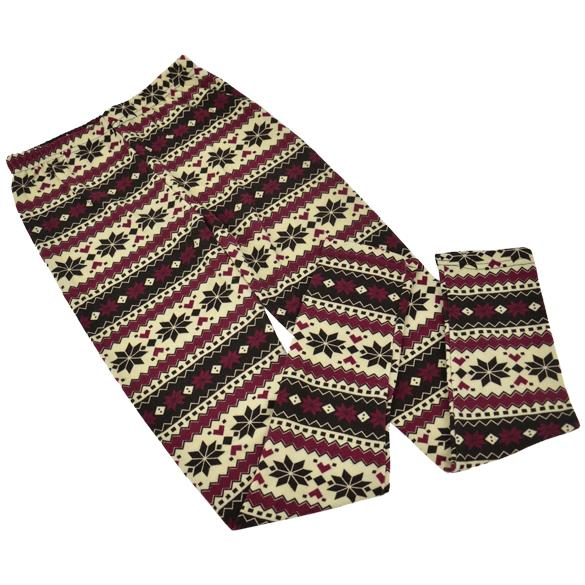 Womens Fashion Colorful Pattern Retro Knitted Leggings Tights Pants- LG65 eBay