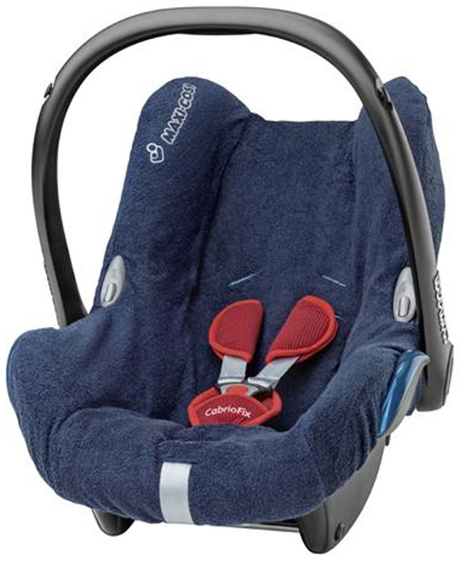 summer cover 4 maxi cosi cabriofix car seat cool removable washable towelling ebay. Black Bedroom Furniture Sets. Home Design Ideas