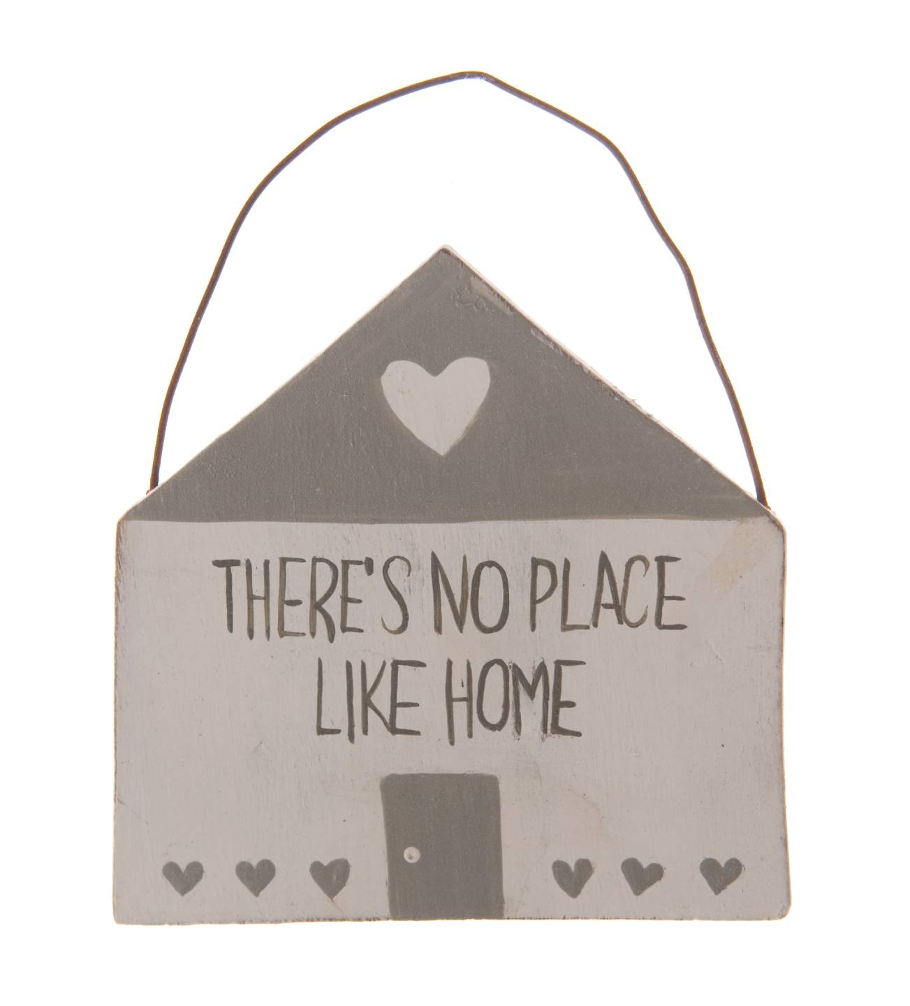 New shabbychic hanging home sweet home sign plaque heart for New home sign