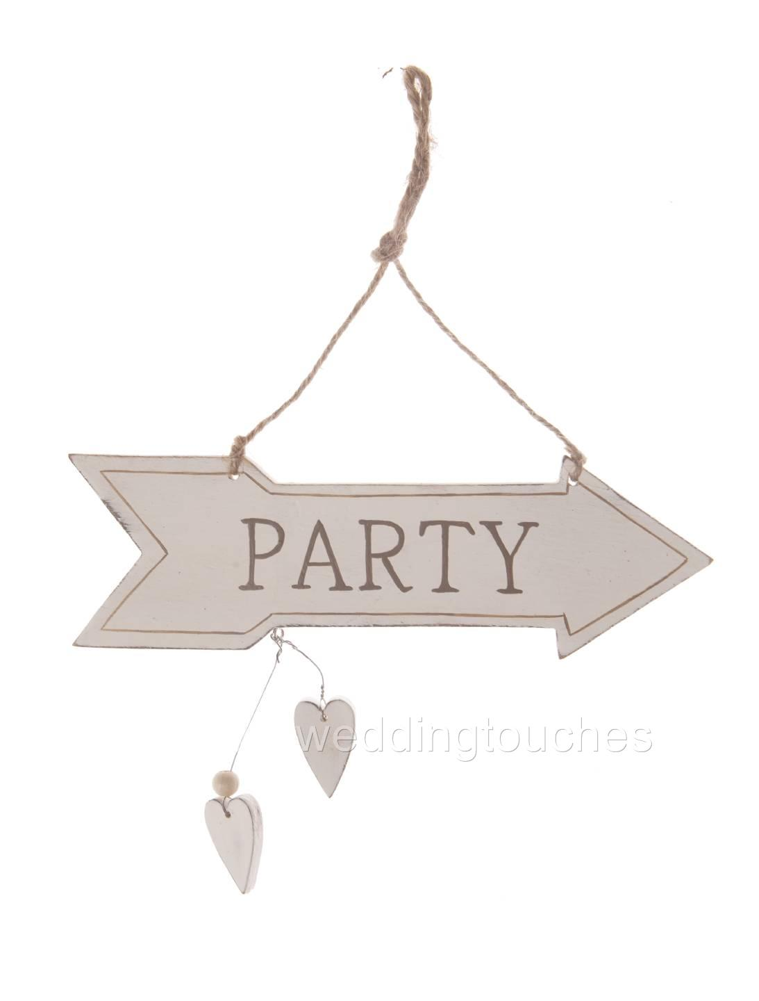 Shabby Chic Hanging Heart Sign Plaque Home Heart Gift