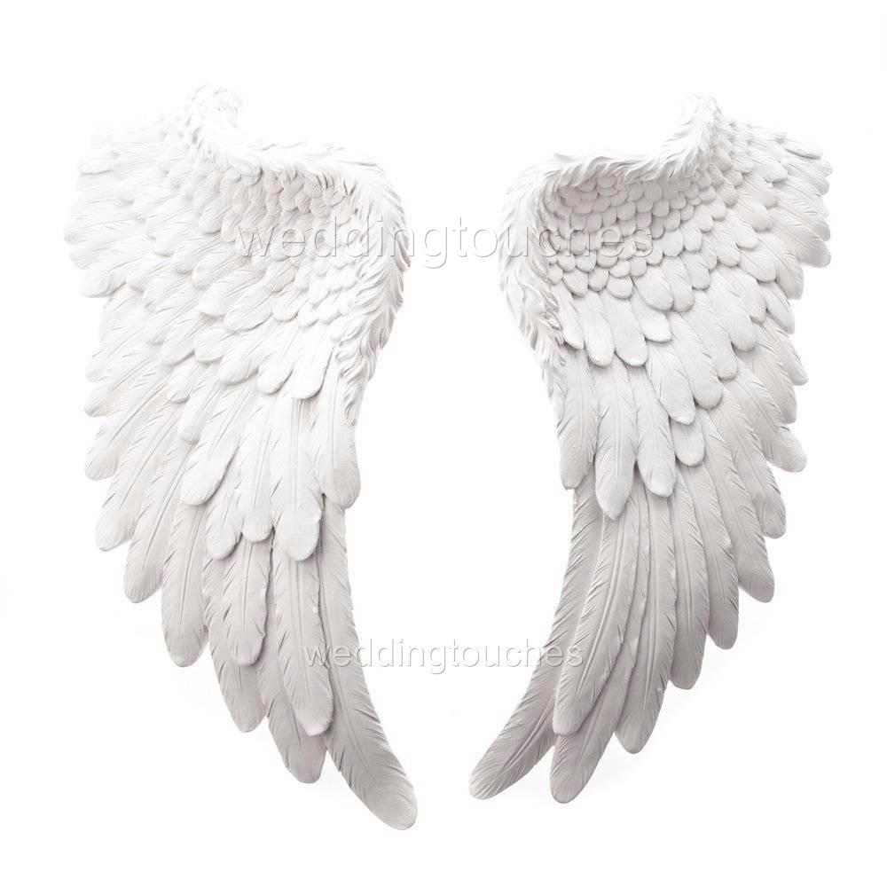 Decorative Wall Hanging Angel Wings : Large wall hanging angel wings decorative antique