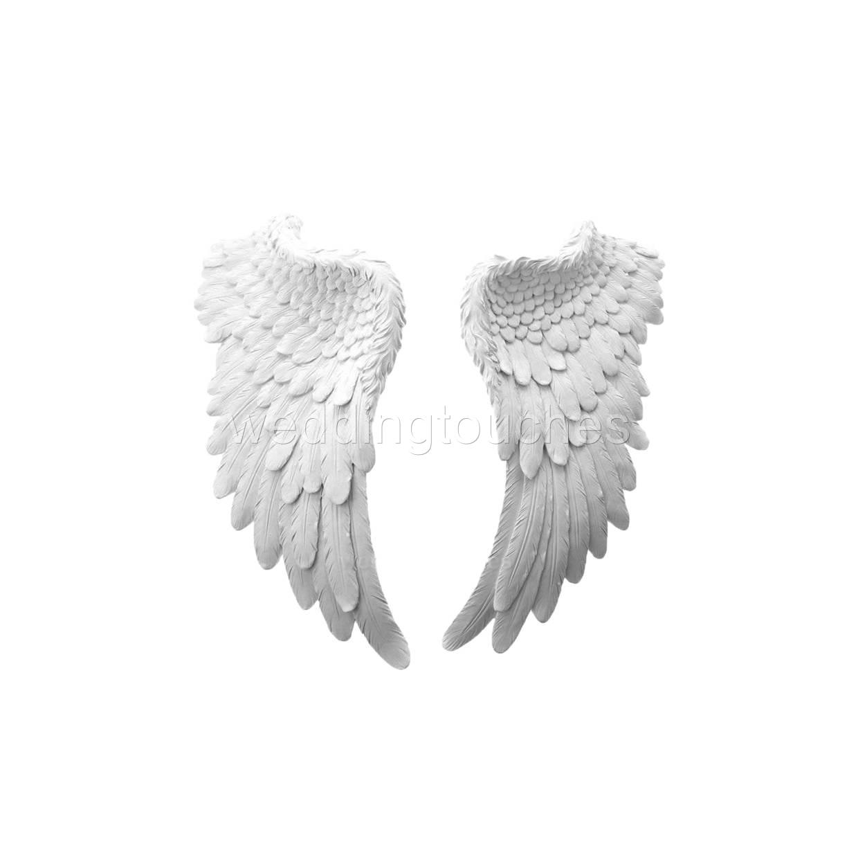 Large wall hanging angel wings decorative antique angel for Angel wings wall decoration uk