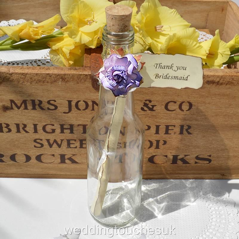 Gift Message For Wedding Gift : about Message In A Bottle Wedding Favours Gift Invitation Message ...