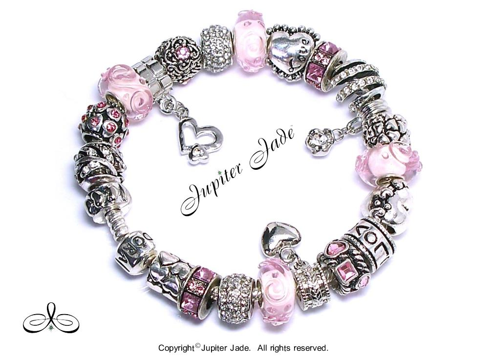 Authentic Pandora Silver 925 Charm Bracelet European