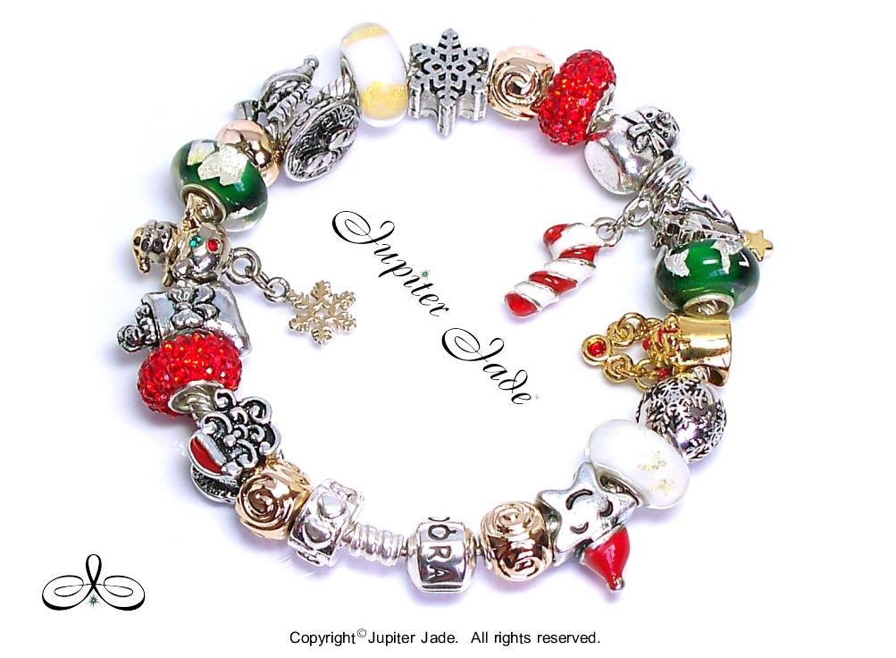 authentic pandora silver charm bracelet pugster charms