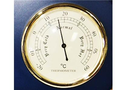 Weather station meter barometer thermometer fishing for Barometer and fishing