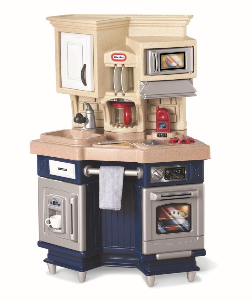 New Little Tikes Super Chef Kitchen Kids Pretend Play Mini Kitchen Accessories Ebay