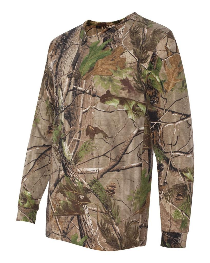 Real Tree Camouflage Ap Or Apg Hunting Camo Long Sleeve