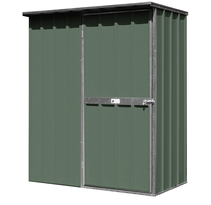 Flat Roof Storage : Easyshed m flat roof colour garden shed storage