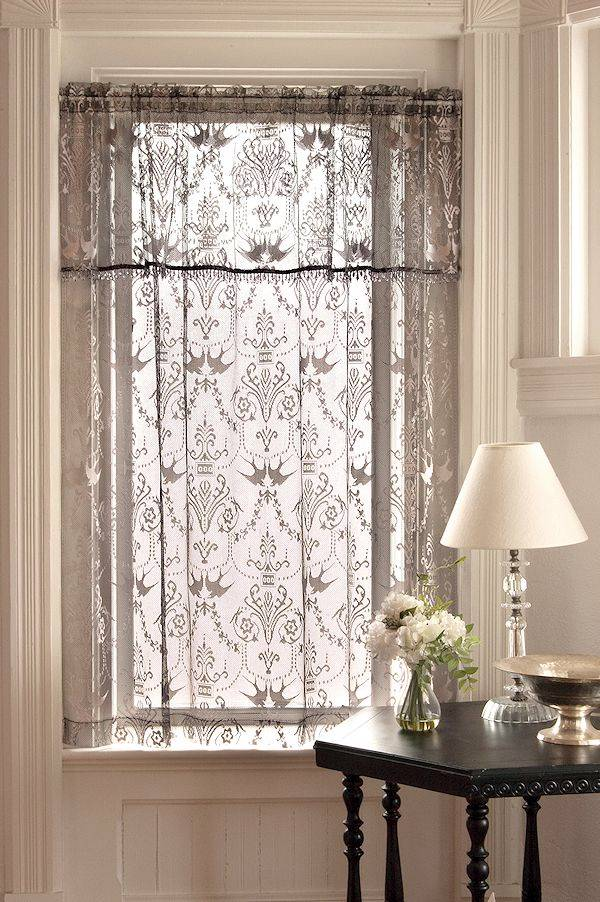 victorian lace curtains