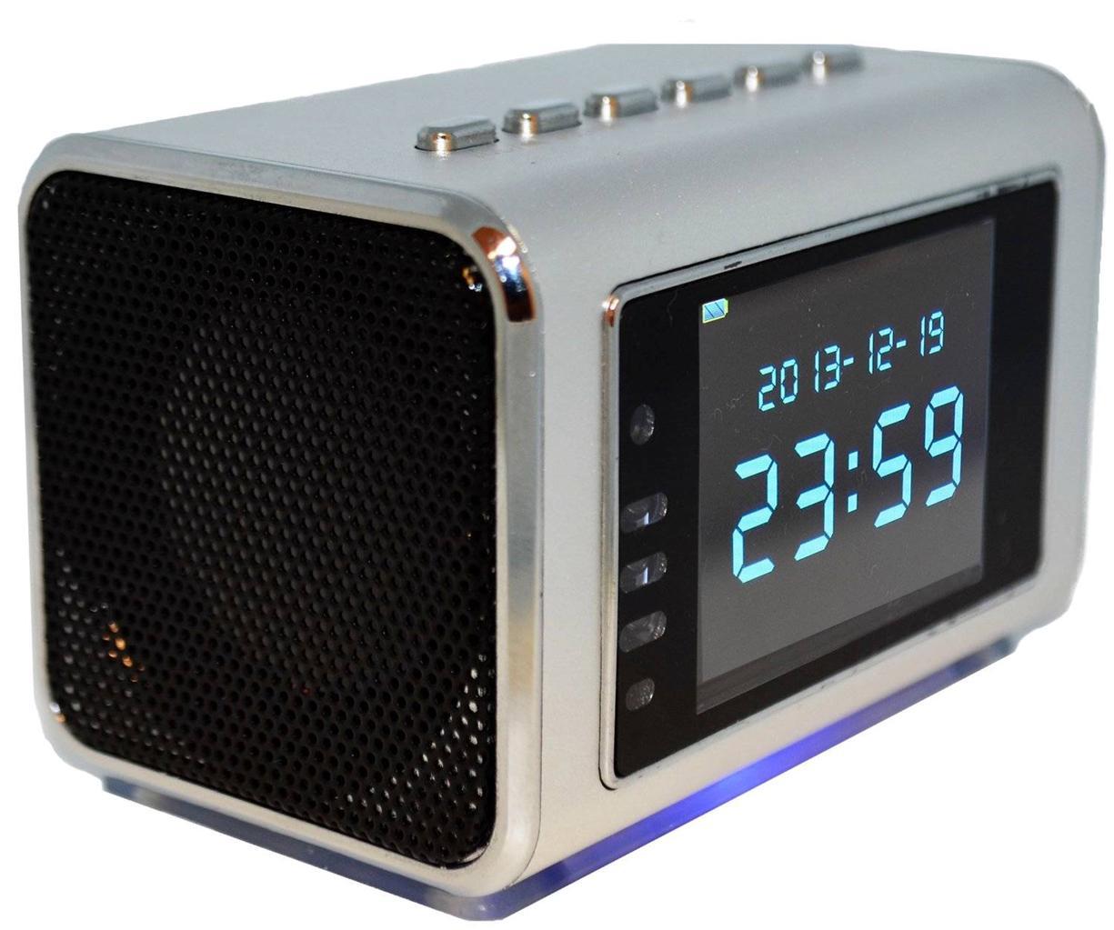 foscam fhc51 hidden spy clock radio video camera with dvr ebay. Black Bedroom Furniture Sets. Home Design Ideas