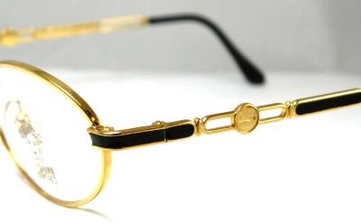 Versace Glasses Gold Frame : Gianni Versace Frames Glasses Spectacles Eyeglasses Black ...