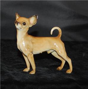 rare vintage hutschenreuther porcelain dog figurine chihuahua 4 h excellent ebay. Black Bedroom Furniture Sets. Home Design Ideas