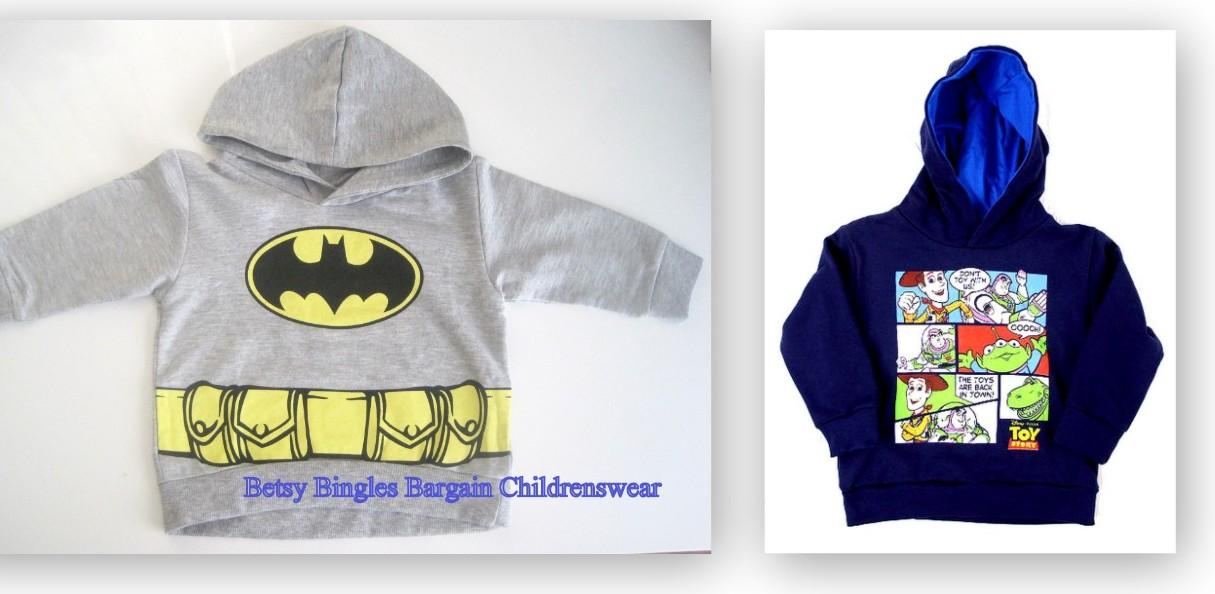 Batman Toys Age 5 : New boys ex store toy story batman hoodies top age