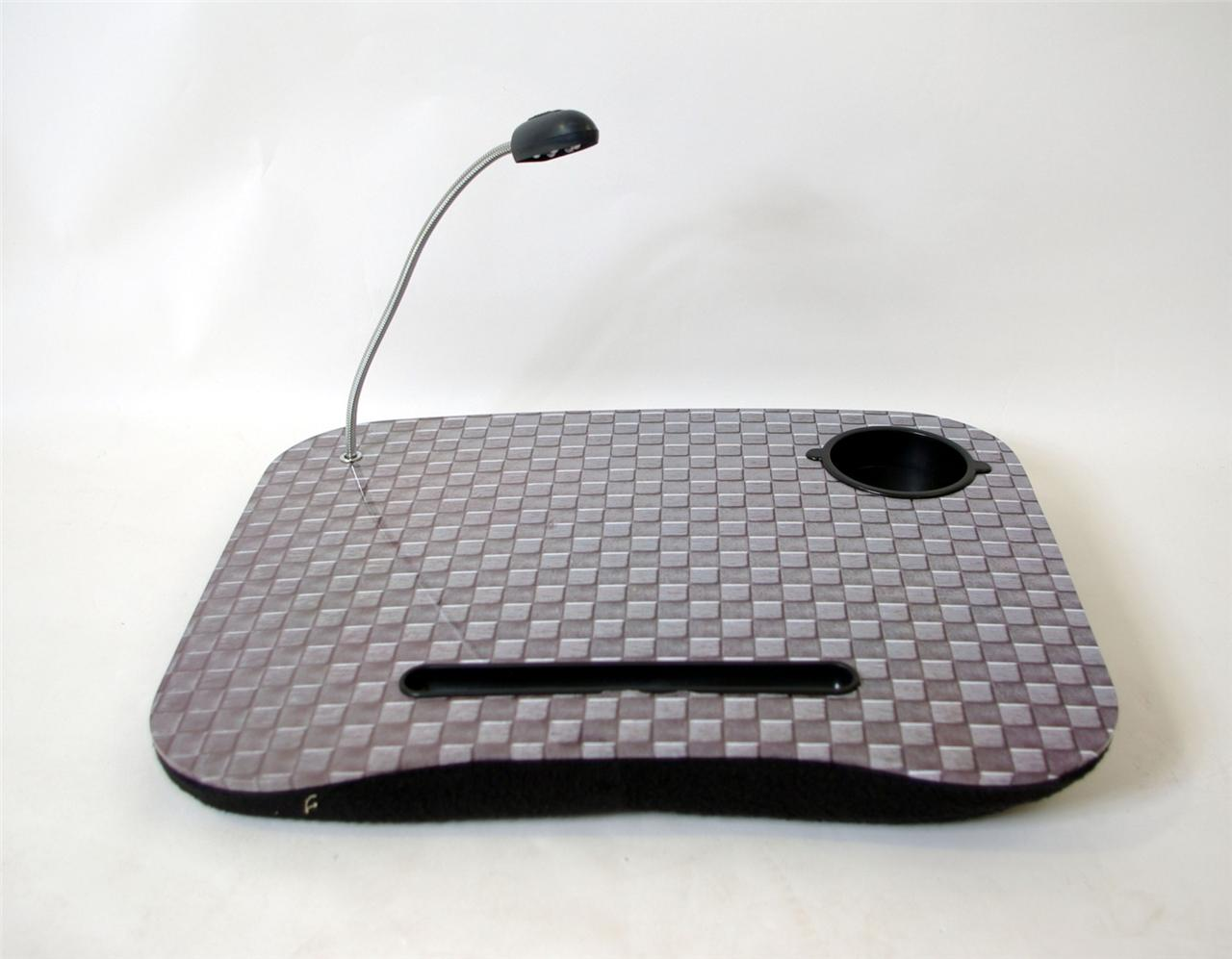 LAPTOP CUSHION PORTABLE READING LAP TOP TRAY TABLE WITH 5