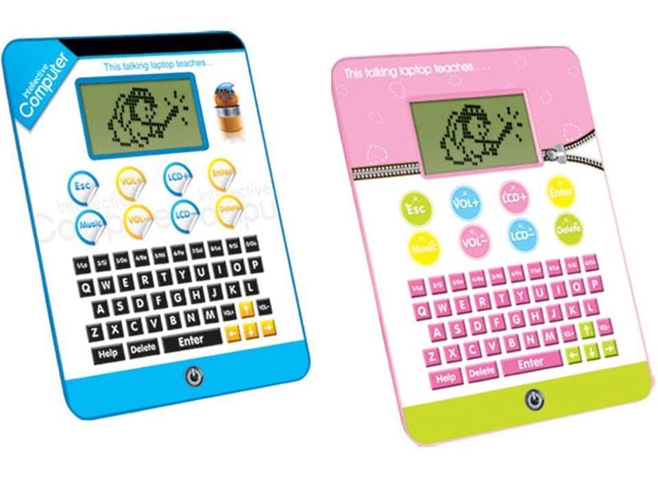 Interaktives tablet kinder lern computer spielzeug laptop