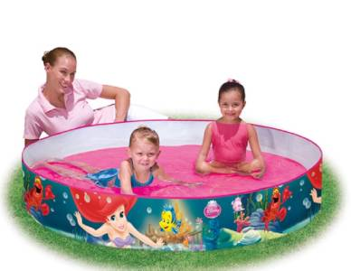 Disney princess little mermaid fill and fun garden for Garden paddling pool