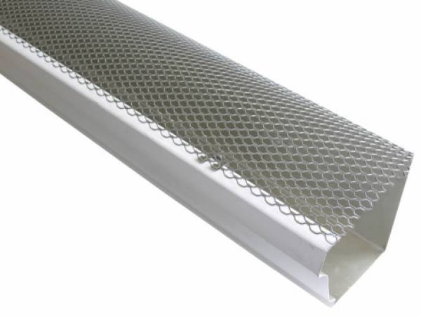 6m Gutter Mesh Roof Guttering Guard Cover To Stop Leaf