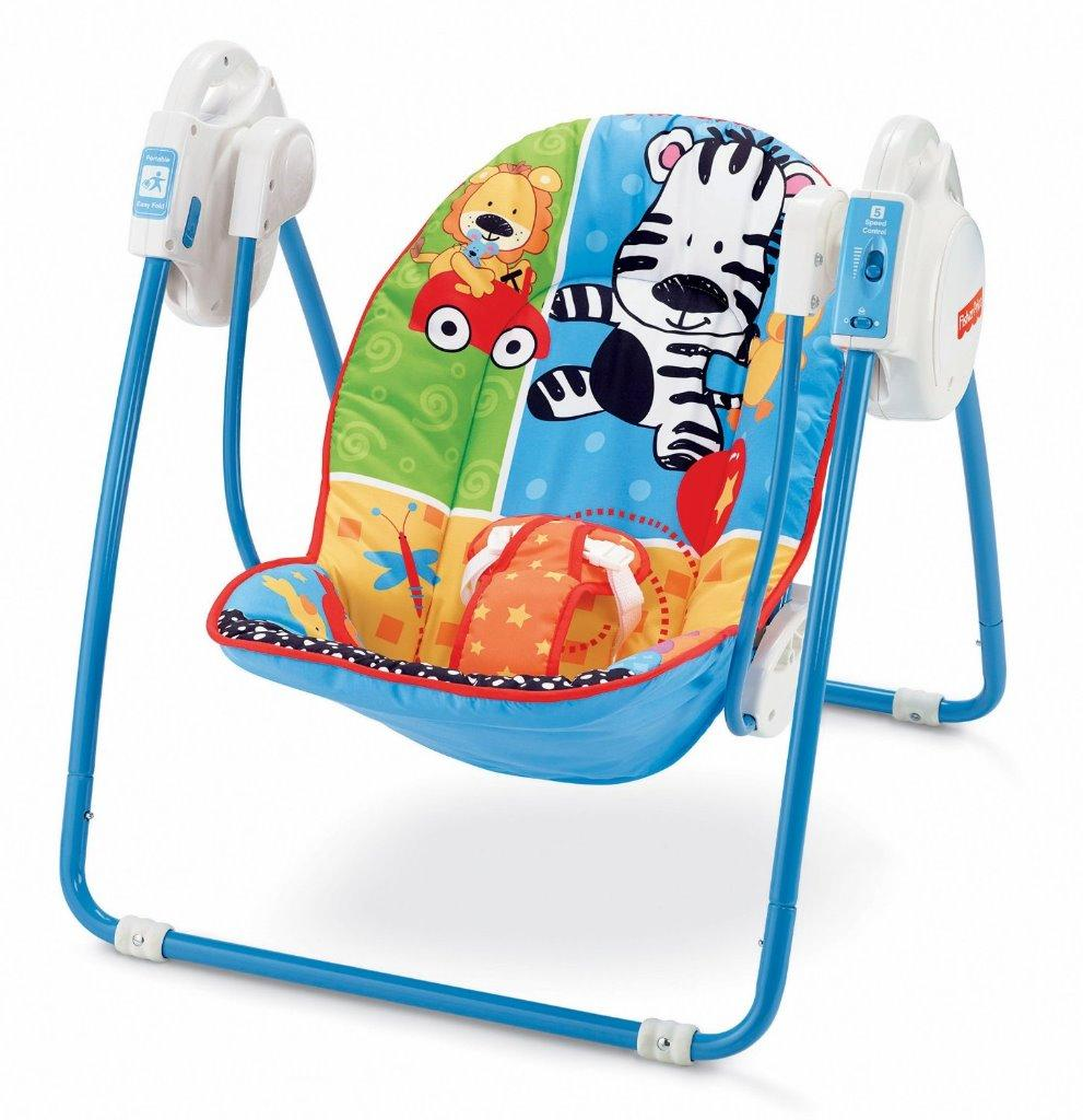 Fisher Price Spacesaver Swing Amp Seat Animals Deluxe Take