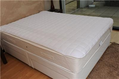 silentnight superspring mattress topper adds extra bounce. Black Bedroom Furniture Sets. Home Design Ideas