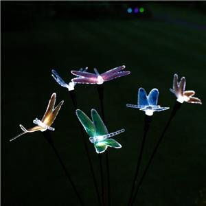 Philips Led String Lights Dragonfly : Solar Butterfly Dragonfly String Fibre Optic 10 Led Lights Garden Deco Lighting eBay