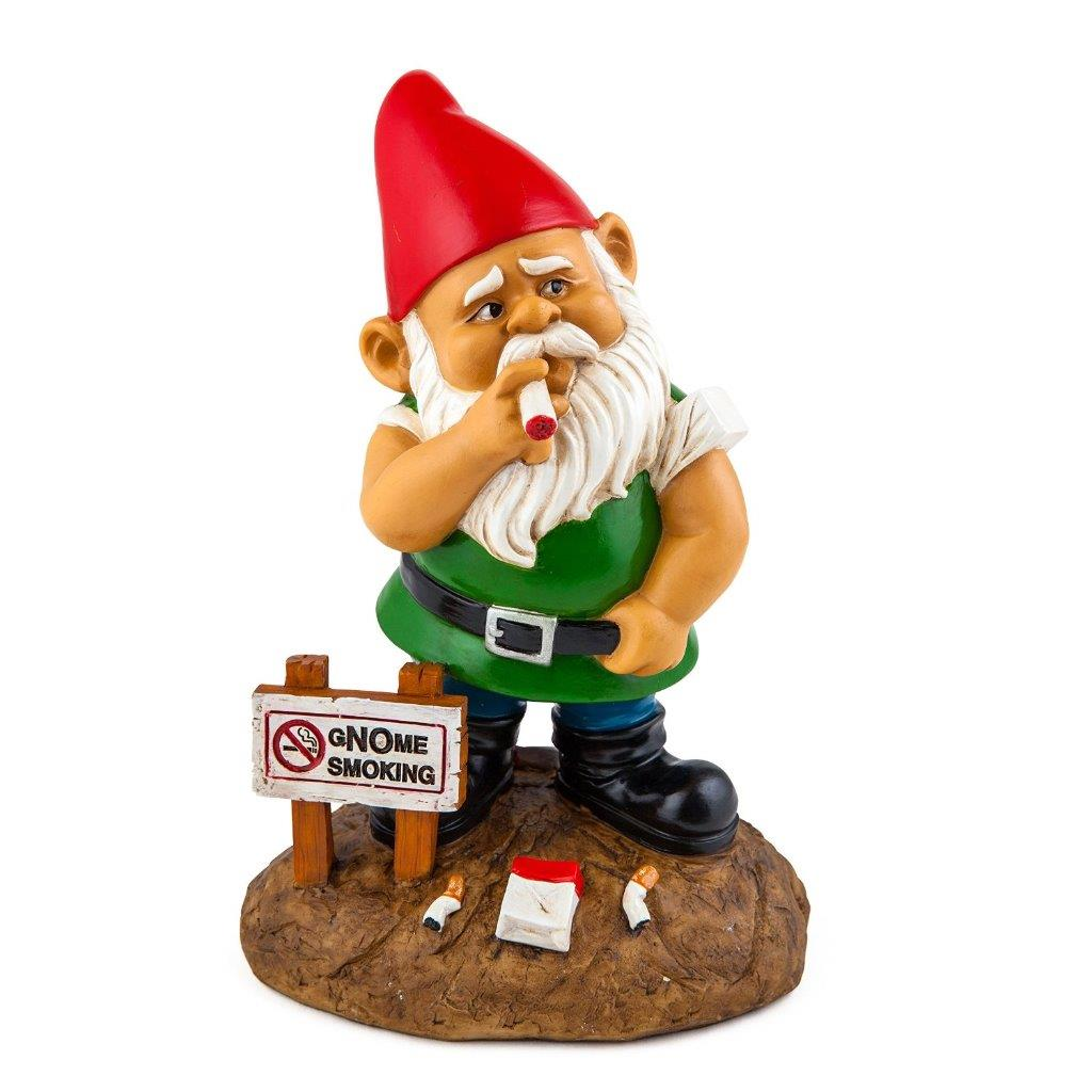 New novelty naughty garden gnomes outdoor decoration for Achat nain de jardin