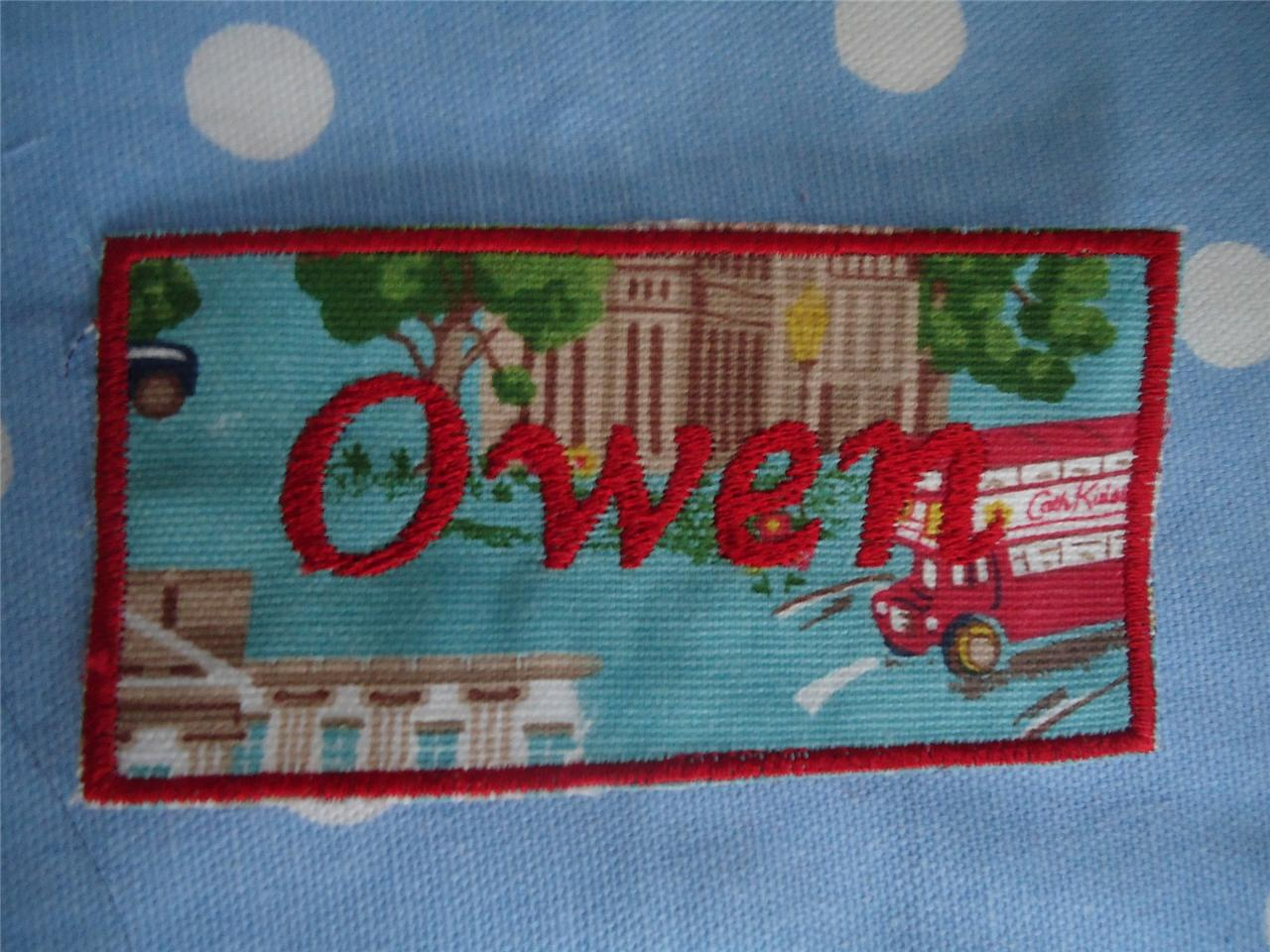 1-CATH-KIDSTON-TILDA-FABRIC-HANDMADE-PERSONALISED-EMBROIDERED-MOTIF-PATCH-BADGE