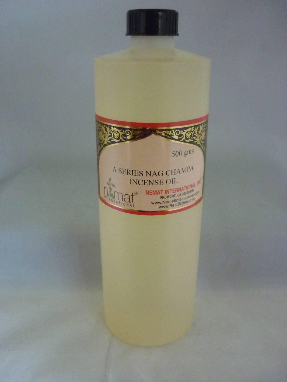 Incense perfume oil