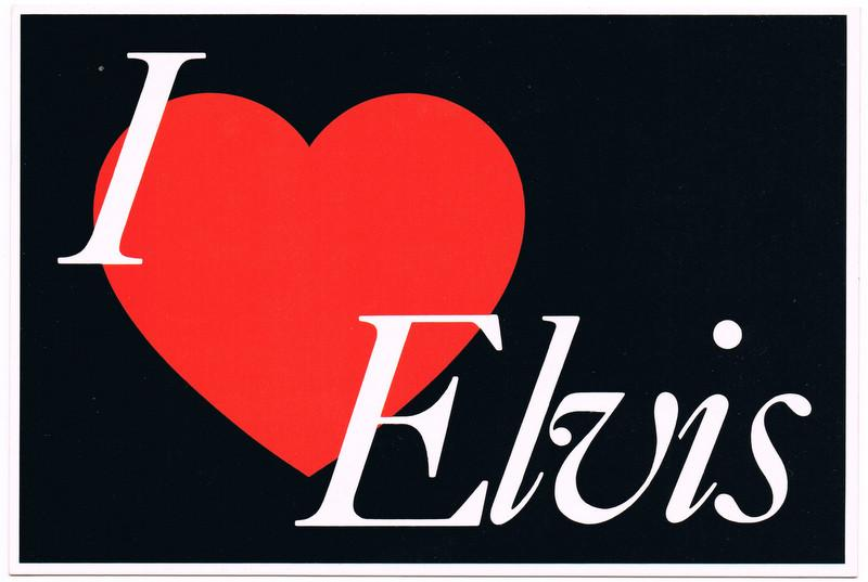 I-LOVE-ELVIS-POSTCARD-ELVIS-PRESLEY-MEMORABILIA-COLLECTABLE-UNUSED-MINT-CONDTION