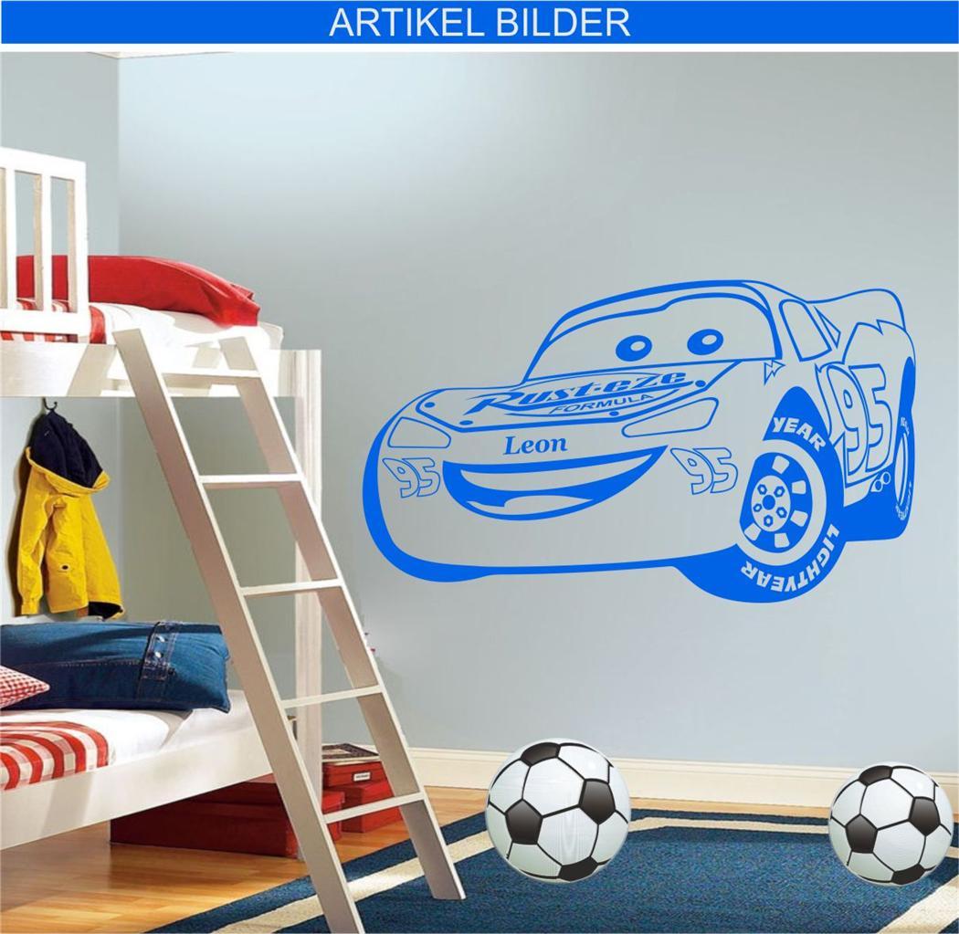 Neu wandtattoo wall sticker kinderzimmer disney cars auto - Disney cars kinderzimmer ...
