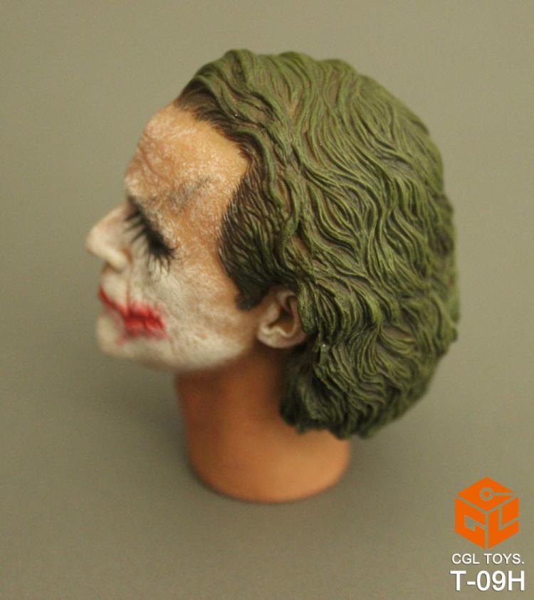 Custom heath ledger joker two face 1 6 head sculpt for for A href text decoration