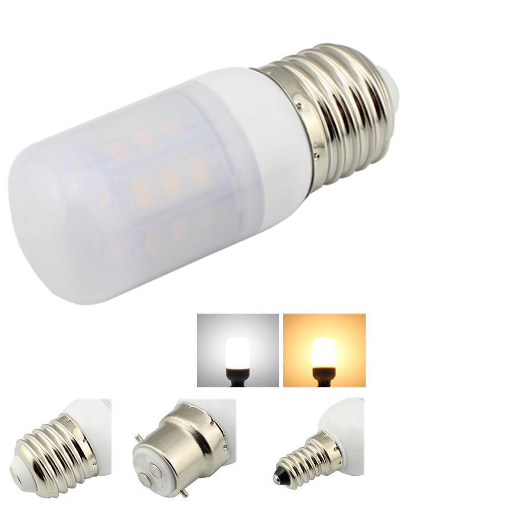 Led Bulb Dc: 4W LED E12 E26 E27 B22 Warm White Lights DC 12V 24V