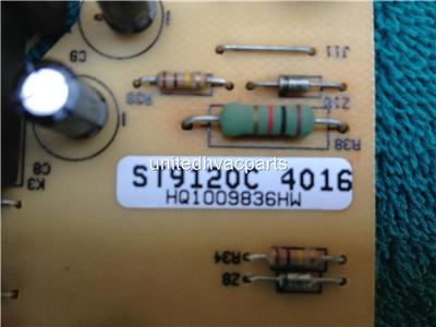 honeywell st9120c4016 furnace circuit control board