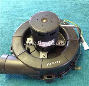 Fasco draft inducer motor assembly 70219450 lennox 67k0401 for Lennox inducer motor assembly