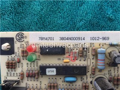 Oem lennox furnace control circuit board 78m47 78m4701 for Lennox furnace blower motor not working