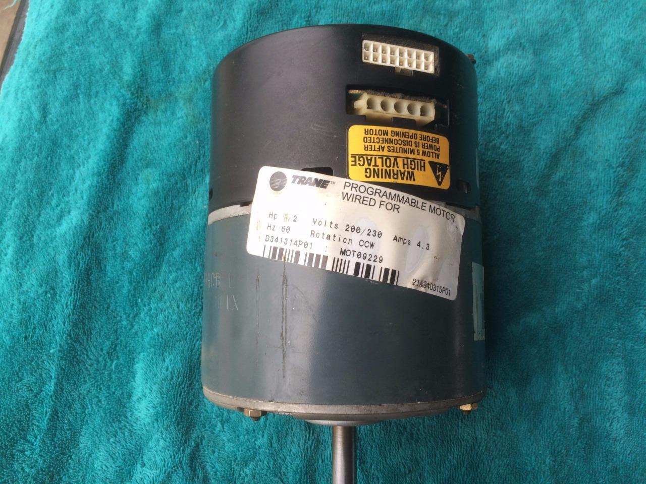 Trane d341314p01 ecm module mot09229 ge ecm variable speed for Trane blower motor module