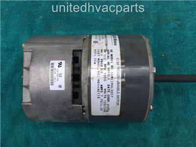 Ge 5sme39hl0057 carrier bryant hd44ae118 variable speed for Variable speed motor furnace