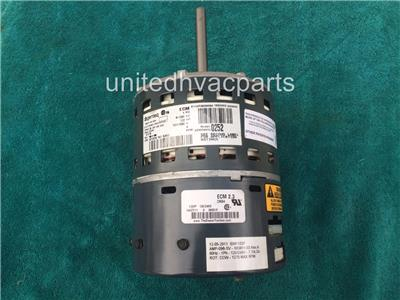 Ge 5sme39hl0252 carrier b03811 03 variable speed blower for Variable speed motor furnace