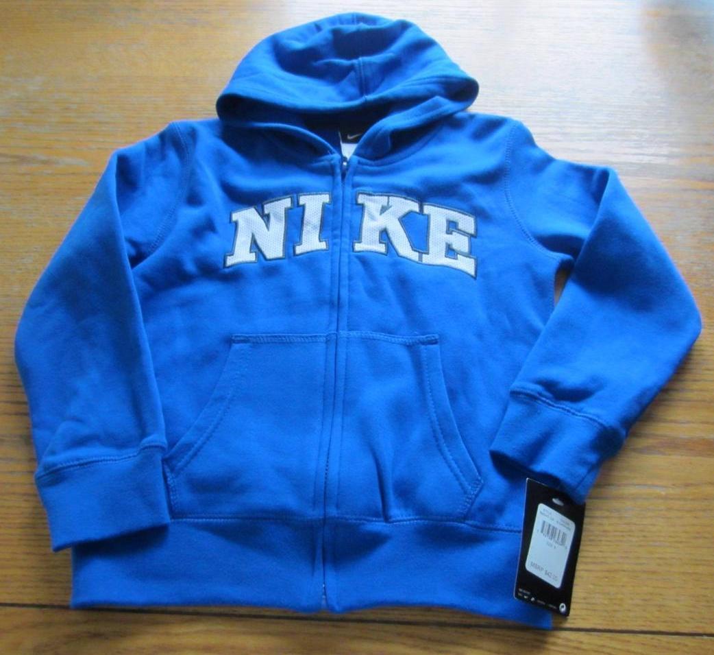 Nike Jacket Hoodie Blue