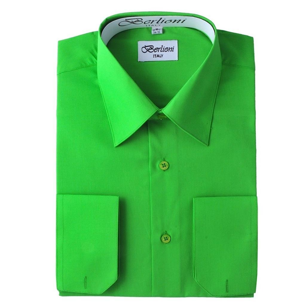 Nwt Elegant Berlioni Apple Green Button Down Men 39 S Dress
